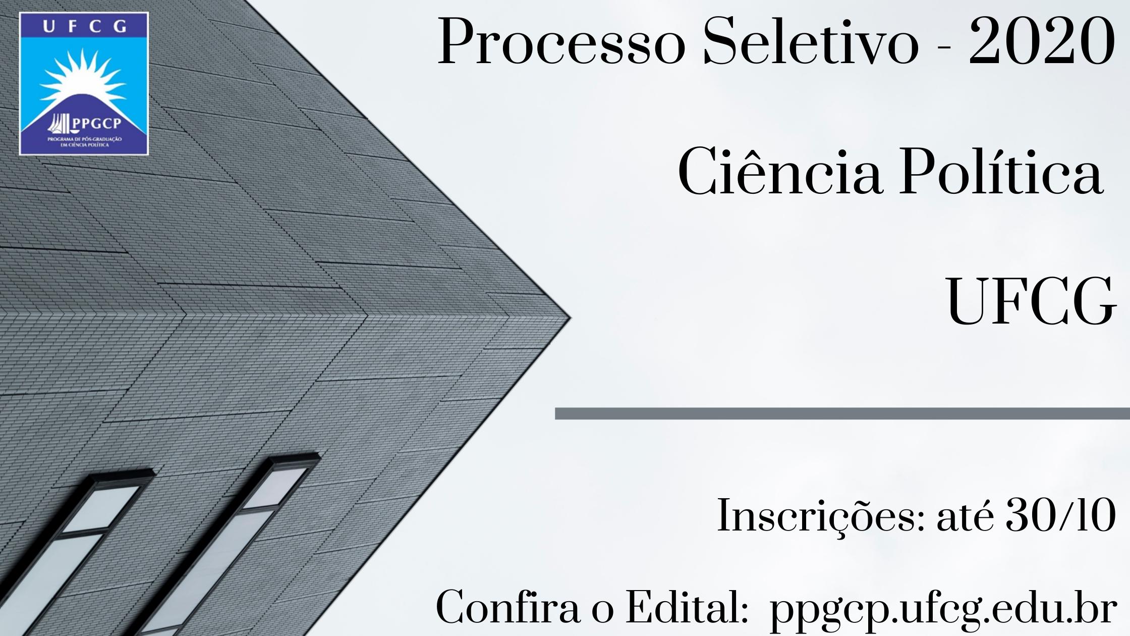 Processo Seletivo - 2020